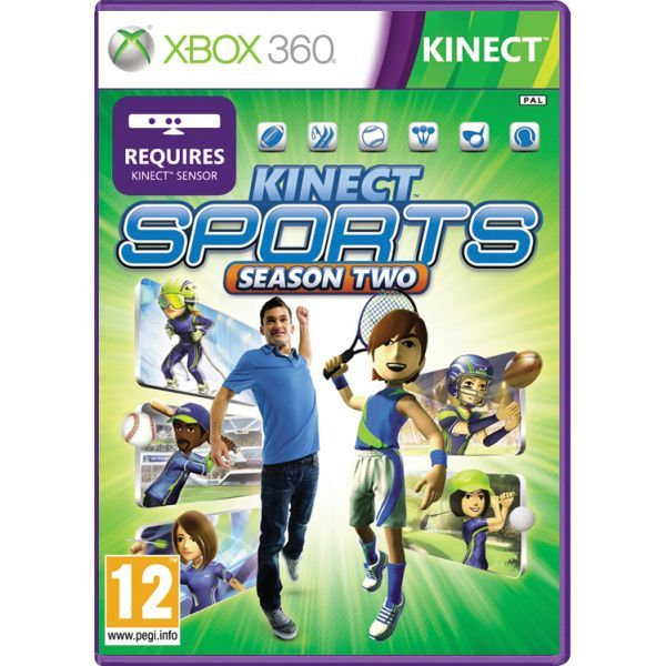 Kinect Sports Season 2 Xbox 360