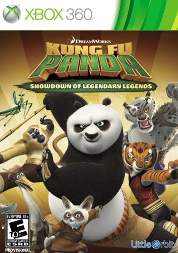 Kung Fu Panda Showdown of Legendary Legends Xbox 360