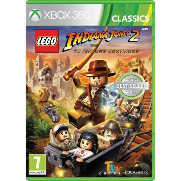 LEGO Indiana Jones 2 The Adventure Continues Xbox 360