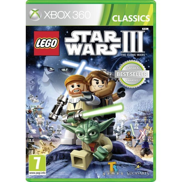 LEGO Star Wars 3 The Clone Wars Xbox 360