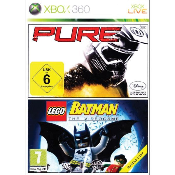 Pure + LEGO Batman The Videogame Xbox 360