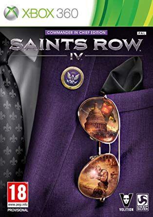 Saints Row 4 Commander in Chief Edition Xbox 360