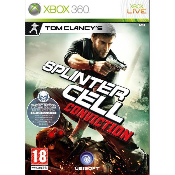 Tom Clancys Splinter Cell Conviction Xbox 360
