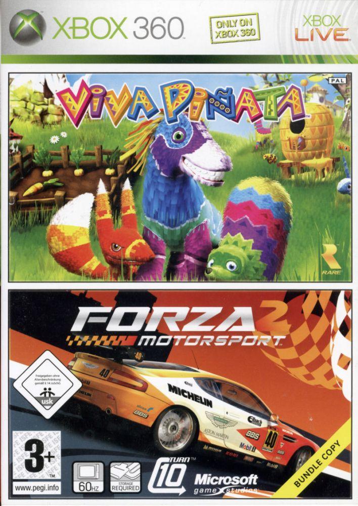 Viva Piňata CZ + Forza Motorsport 2 CZ Xbox 360