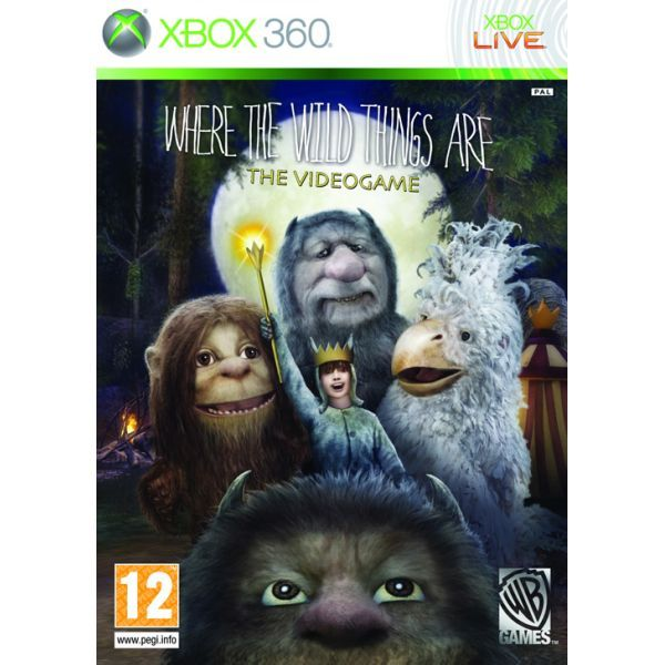 Where the Wild Things Are The Videogame Xbox 360