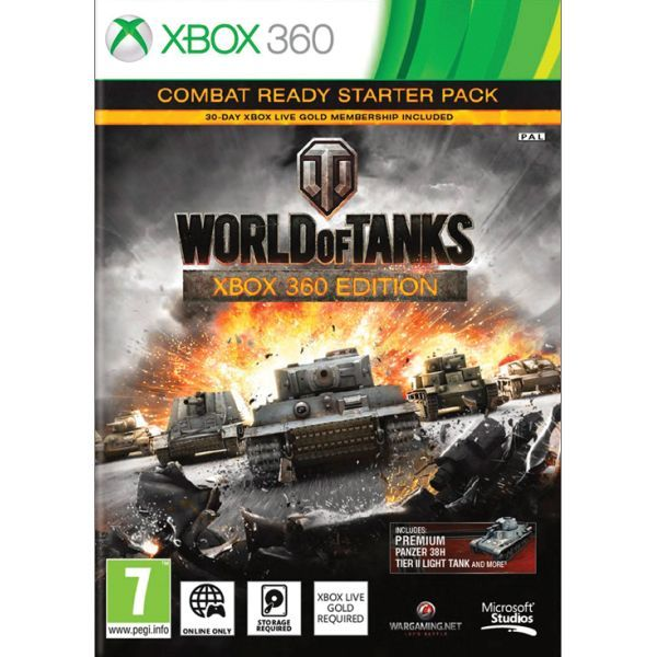 World of Tanks (Xbox 360 Edition Combat Ready Starter Pack) Xbox 360