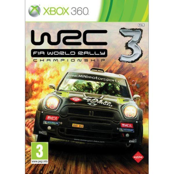 WRC 3 FIA World Rally Championship Xbox 360