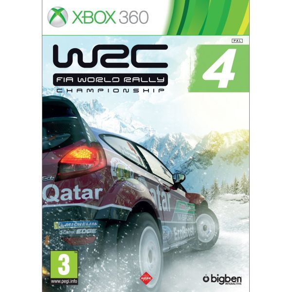 WRC 4 FIA World Rally Championship Xbox 360