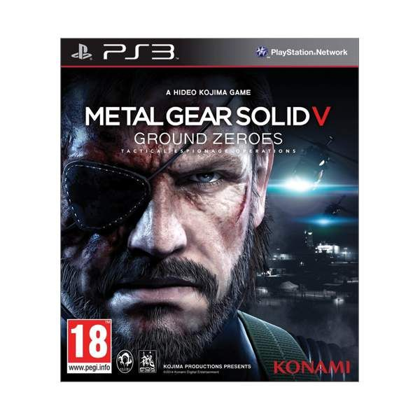 Metal Gear Solid 5 Ground Zeroes PS3