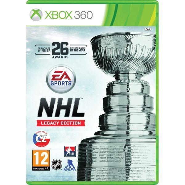 NHL Legacy Edition CZ Xbox 360