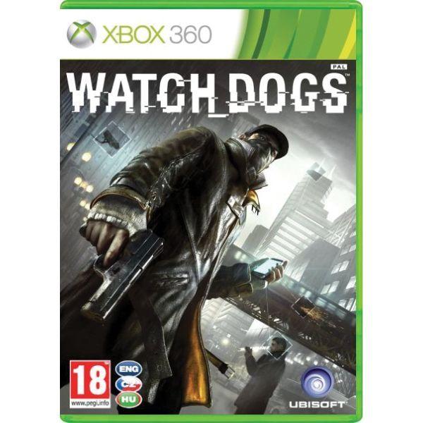 Watch Dogs CZ Xbox 360