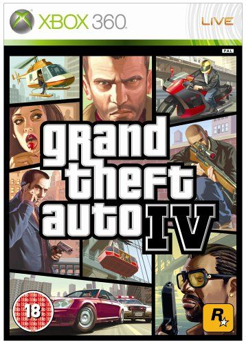 GTA 4 - Grand Theft Auto IV Xbox 360