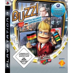 Buzz! Deutschlands Superquiz NJ PS3