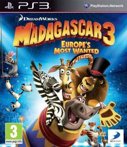 Madagascar 3 Europes Most Wanted PS3