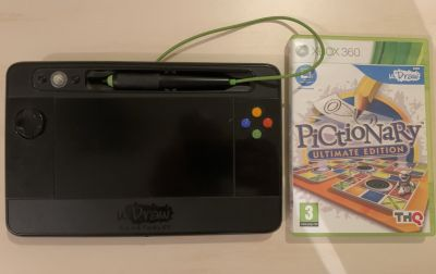 uDraw tablet a hra Pictionary Xbox 360