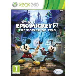 Disney Epic Mickey 2 The Power of Two NJ Xbox 360