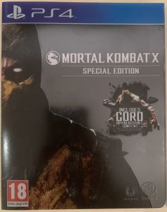 Mortal Kombat X SteelBook Edition PS4