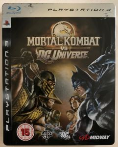 Mortal Kombat vs. DC Universe special edition PS3