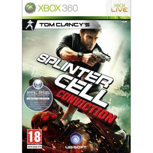 Tom Clancys Splinter Cell Conviction Xbox 360